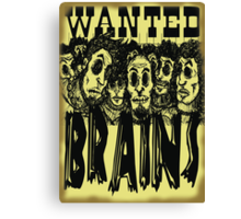 The Gang's All Here - Wanted Poster Canvas Print
