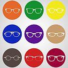 9 Glasses Styles by Ajan