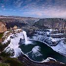 Winter at Palouse Falls by Dan Mihai