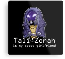 Tali is My Space Girlfriend Metal Print