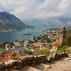 Kotor Panoramic View From the Fortress by kirilart