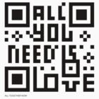 QR Code - All you need is love by wiscan