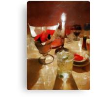 Drinks Before Dinner Canvas Print