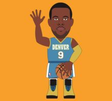 NBAToon of Andre Iguodala, player of Denver Nuggets by D4RK0
