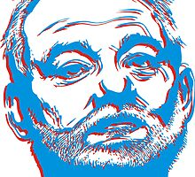 Bill Murray 3D by BUB THE ZOMBIE