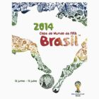 World Cup Brazil 2014 #1 by Vidka Art
