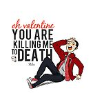 Oh Valentine, Stiles by aeroplaneblues