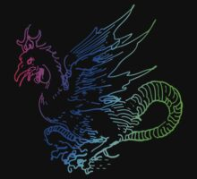 Spectrum Dragon by Archpress