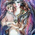 Portrait of a Mermaid by Robin Pushe'e