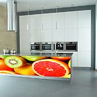 Kitchen Splash Back Glass series by Martin Dingli