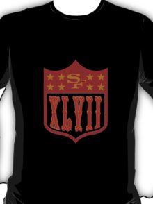 Niners Superbowl XLVII T-Shirt