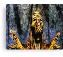Dragon Priest Canvas Print