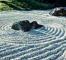 Zen Garden, Japan by 3523studio