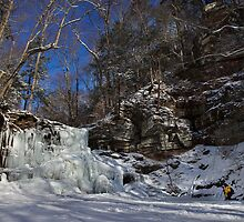 Deep Freeze at Sheldon Reynolds Falls by Mark Van Scyoc