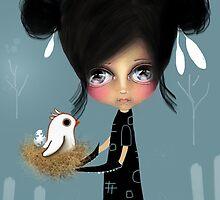 The Bird Whisperer by © Karin  Taylor