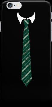 Slytherin Tie by tjneedsalife
