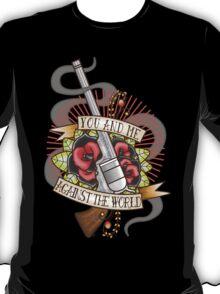 Against the World Valentine T-Shirt