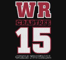 San Francisco 49ers WR Michael Crabtree #15 T-Shirt! Kids Clothes