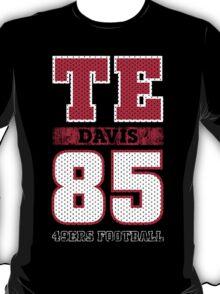 San Francisco 49ers TE Vernon Davis #85 T-Shirt!  T-Shirt