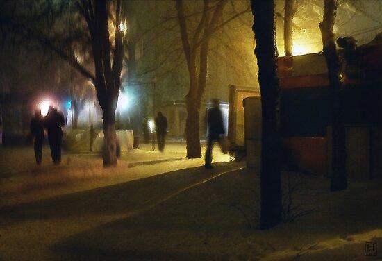 February 1st. Lights by Nikolay Semyonov
