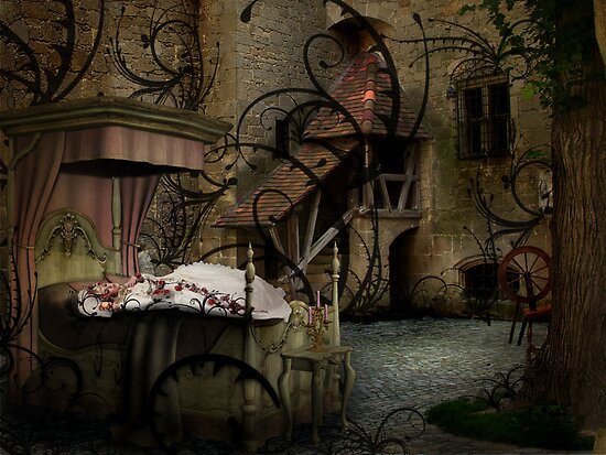 Sleeping Beauty by Þórdis B.