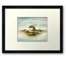 The Island Framed Print