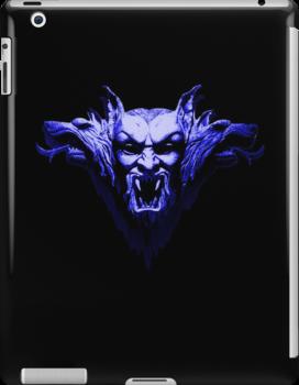 Vampire - in Blue by HazardousCoffee