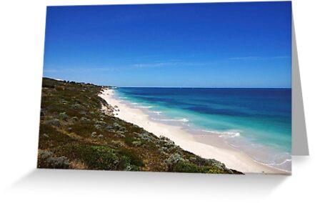 The beach at Jindalee by georgieboy98