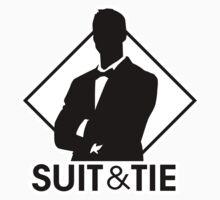 Suit & Tie by DetourShirts