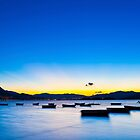 Sunset coast in Hong Kong by kawing921