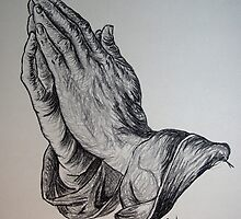 Praying Hands by Mel & Adam Sullivan