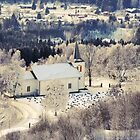 Norwegian Church In Winter by appfoto