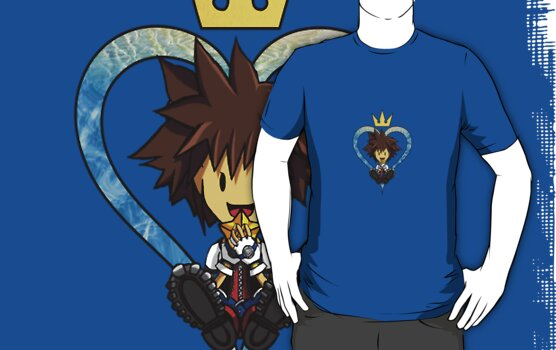 Kingdom Hearts Sora the Child by Jeffrey Rogers