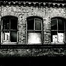 Broken building by Barry Robinson