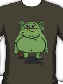 Big Fat Ugly Troll (trying to look cute) T-Shirt