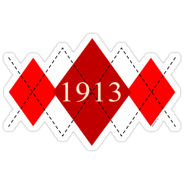 Abstraq Inc: 1913 Argyle (crimson) by Abstraq