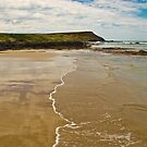 Reflections in the Sand Phillip Island Australia by PhotoJoJo