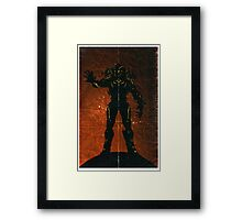 Halo 4 - The Didact Framed Print