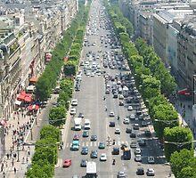 Champs-Élysées by diamondphotogal