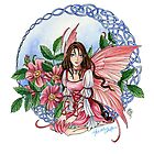 Celtic Rose Fairy by meredithdillman