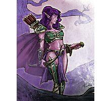 Elf Huntress Photographic Print