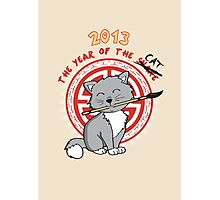 Year of the Cat Photographic Print