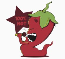 Red Chili Pepper by Donnie Illustration
