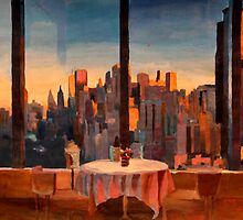New York City - Window to Downtown Manhattan by artshop77