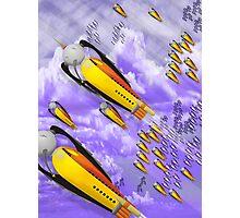 space ship invasion squadron  Photographic Print