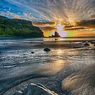 Sunset at Talisker Bay by Fraser Ross