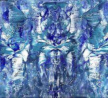 BLUE ANGEL MANDALA by karen66