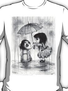 Falling Graphite T-Shirt