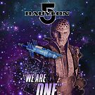 "Babylon 5 / G'kar ""We Are One"" by fanboydesigns"