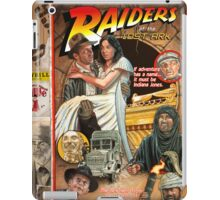 "Raiders of the Lost Ark, ""Circus Style"" poster iPad Case/Skin"